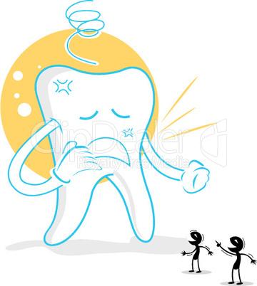 Zahn und Karies