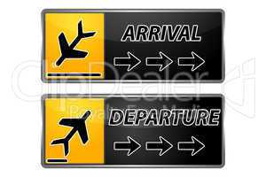 arrival and departure tags