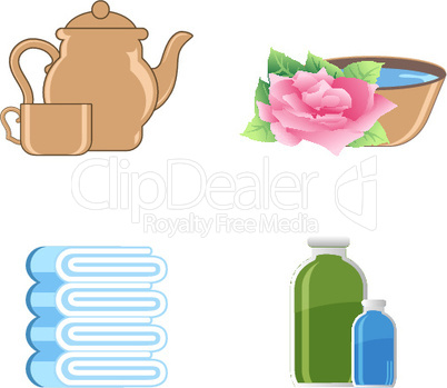 Verschiedene Icons