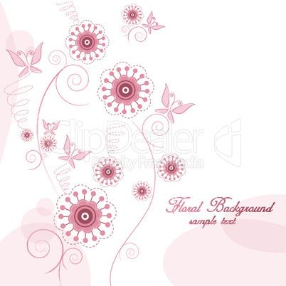 Florale Grafik