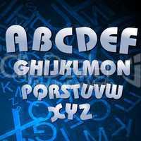 alphabetical texts