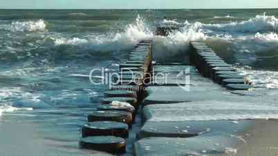 Brandung am Meer - At the Ocean