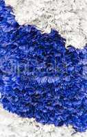 Hintergrund - Bayern Girlande Blau Weiss