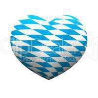 3D Herz - We love Bayern 02