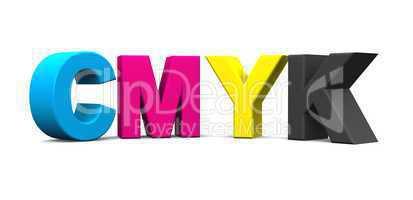 3D - CMYK Buchstaben - freigestellt 05