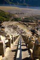 Treppe zum Krater des Mt. Bromo