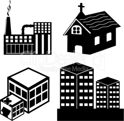 Architektonische Icons