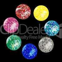 disco ball collection