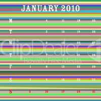 january 2010 - stripes