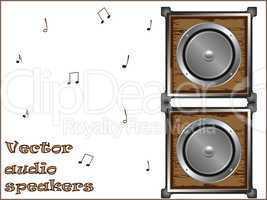 vector audio speakers
