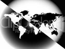 graphic world map