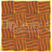 orange handkerchief