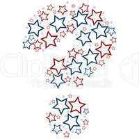 question mark stars
