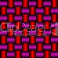 metallic red purple mesh