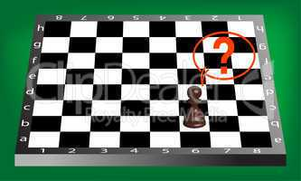 pown and chess board