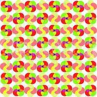 circles seamless abstract pattern
