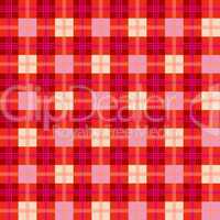 stylish red abstract mesh extended
