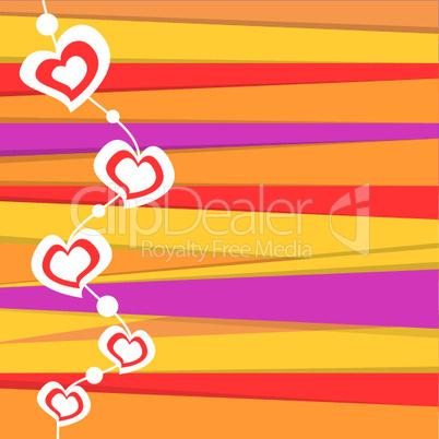 Herzen und Linien