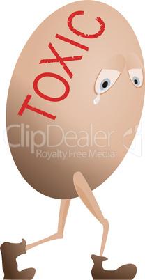 Toxic egg