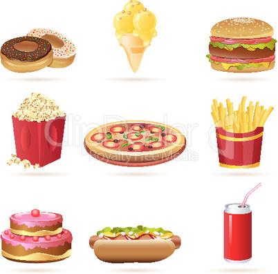 Verschiedene Gerichte