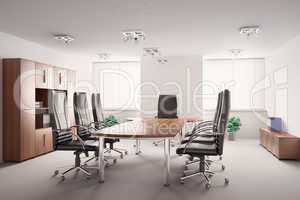 conference room interior 3d
