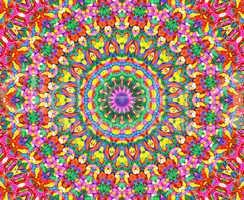 Power Color Spirit Mandala