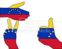 Venezuela Handzeichen