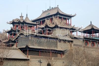 Historical buddhist temple