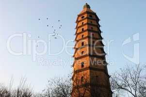 Ancient pagoda in China