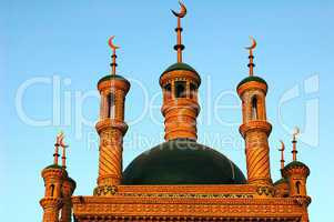 Roofs of a mosque