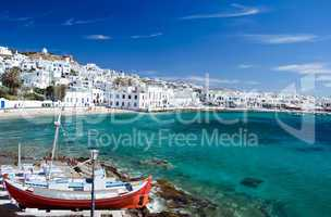 Bay of Mykonos Town