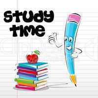 study time card