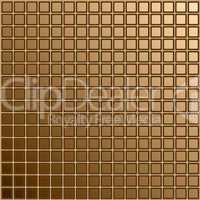 Mosaic of brown color