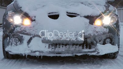 Auto Winter Warnblinker - Car Winter Warning Flasher