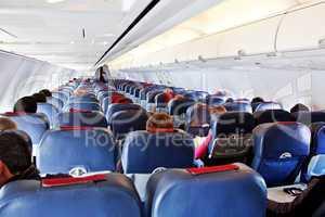 Im Düsenflugzeug 396