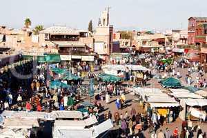 Marrakesch Platz Djemaa el Fna 204