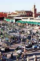 Marrakesch Platz Djemaa el Fna 205