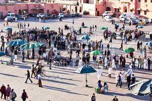 Marrakesch Platz Djemaa el Fna 206
