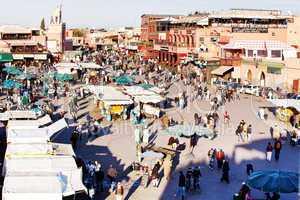Marrakesch Platz Djemaa el Fna 235