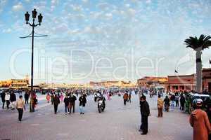 Marrakesch Platz Djemaa el Fna 267