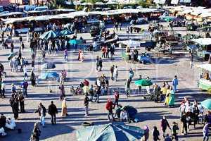 Marrakesch Platz Djemaa el Fna 201