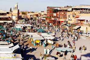 Marrakesch Platz Djemaa el Fna 234