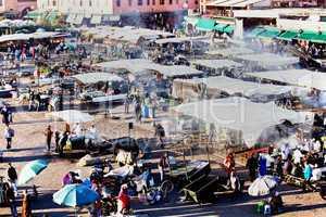 Marrakesch Platz Djemaa el Fna 238