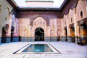 Koranschule Ben-Youssef von Marrakesch 467