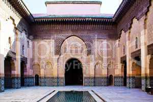 Koranschule Ben-Youssef von Marrakesch 468