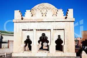 Die Koubba Almoravide von Marrakesch 195