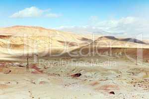 Marokko Landschaft mit Atlasgebirge 855