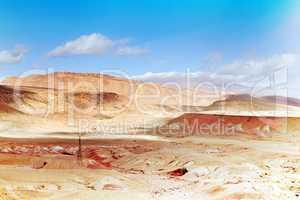 Marokko Landschaft mit Atlasgebirge 856