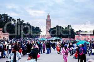 Marrakesch Platz Djemaa el Fna 373