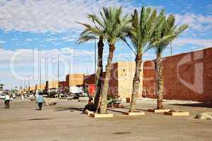 Stadtmauer von Marrakesch 589